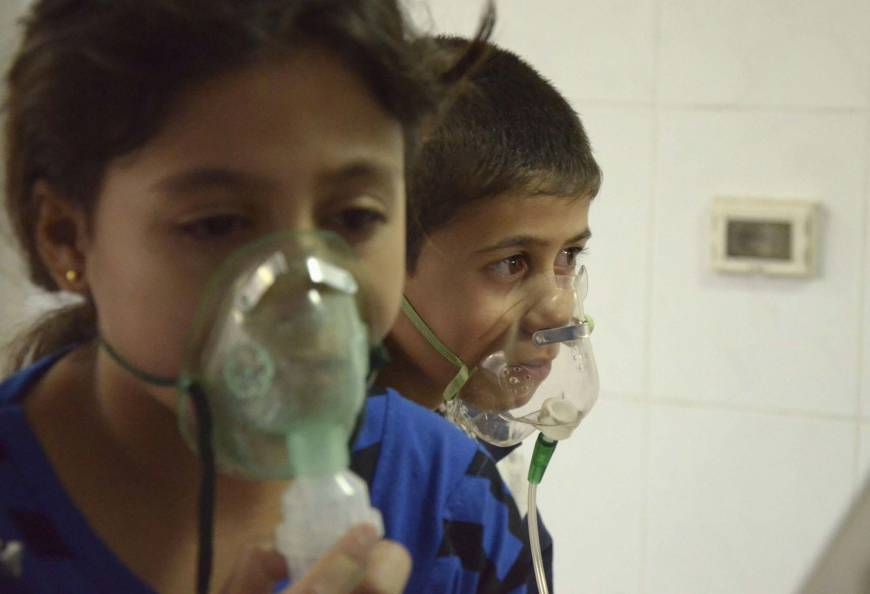 Syrian poison bombs killed 1,300, opposition claims