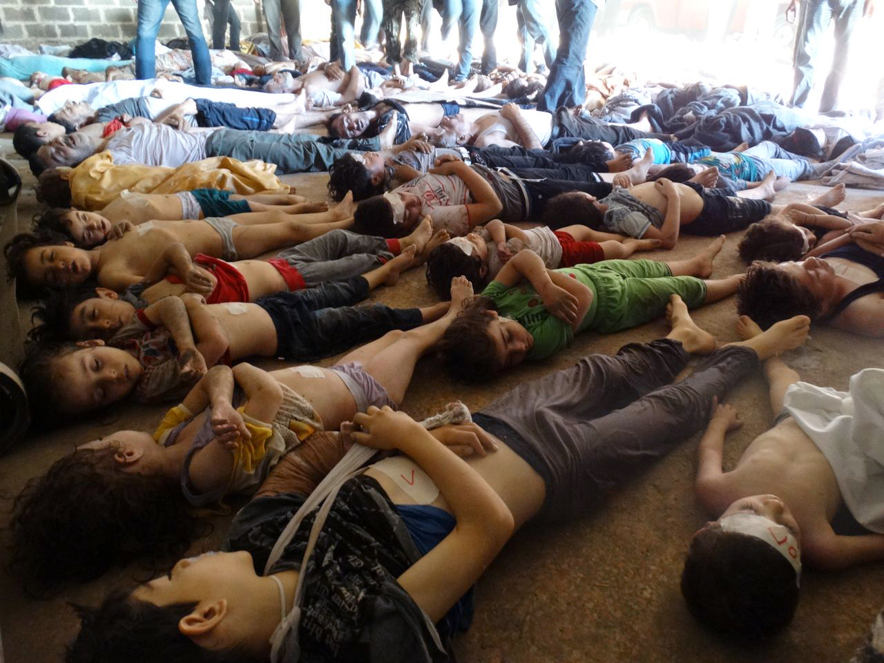Syrian Poison Bombs Killed 1300 Opposition Claims The
