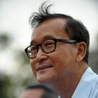 Sam Rainsy AFP-jiji