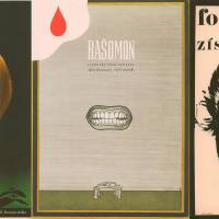 From left to right: 'A Gentle Creature,' directed by Robert Bresson, poster by Olga Polackova-Vylet'alova; 'Rashomon,' directed by Akira Kurosawa, poster by Bedrich Dlouhy; 'Fortel a jak ho ziskat (The Knack ... and how to get it' directed by Richard Lester, poster by Milan Grygar.