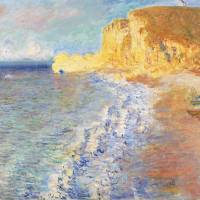 Claude Monet's 'Morning in Etretat'(1883)