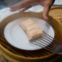 Fish bites: In a blind taste test of 10 samples of farmed and wild steamed salmon, the farmed salmon won hands down. | THE WASHINGTON POST