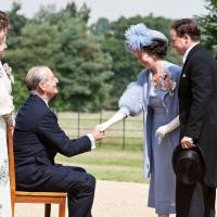 King George and President Roosevelt bond at Hyde Park. | © 2012 FOCUS FEATURES LLC. ALL RIGHTS RESERVED.