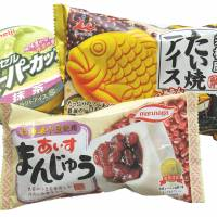 Trans-Pacific treats: Although based on traditional Western snacks, items such as matcha, adzuki and taiyaki ice cream offer a distinctively Japanese hybrid alternative. | SATOKO KAWASAKI
