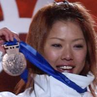 Shamed: Olympic skiing gold medalist Tae Satoya was involved in a ruckus at 911 Black in Roppongi in 2005 that cost her her job at Fuji TV and her place on Japan's World Cup ski team . | KYODO