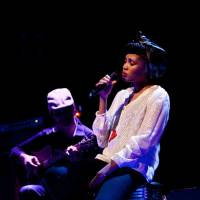 Vocal impressions: Singer Imany says working as a model helped toughen her up for a career in music.