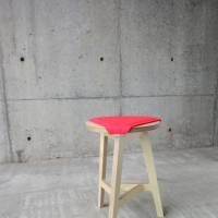 Abode's F2A stool is available with a range of polyester covers, or 'naked' as the F2A Nude.