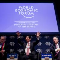 Davos comes from the Swiss resort where the WEF holds its annual meeting in January. | BLOOMBERG