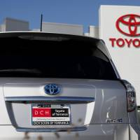 Holding steady: Toyota Motor Corp. is 10th on U.S. consultancy Interbrand's list of 100 Best Global Brands released Monday. | BLOOMBERG