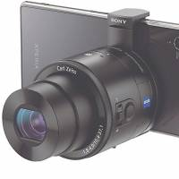 Turn your smartphone into a 20.1 megapixel camera with Sony's detachable DSC-QX100 lens.