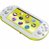 The new PS Vita — slimmer and brighter, but with a LCD instead of an OLED screen.