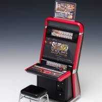 Own your very own 'Street Fighter IV' arcade cabinet — at 1/12 the size.