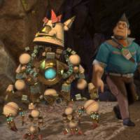 Getting the hang of it: 'Knack,' developed by Sony's Japan Studio, features Pixar-like graphics and was created to showcase the power of the PS4.