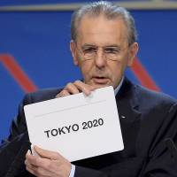 And the winner is: International Olympic Committee President Jacques Rogge declares Tokyo the winner of the 2020 Olympics at an IOC session in Buenos Aires on Saturday. | POOL