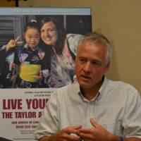 From memory to legacy: Andy Anderson talks about Regge Life's documentary on his daughter, Taylor, who was killed by the tsunami that devastated the city of Ishinomaki, Miyagi Prefecture, on March 11, 2011. | KYODO