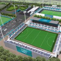 Hockey on the bay: The Seaside Park Hockey Stadium will be built in the Tokyo Bay Zone. | TOKYO 2020
