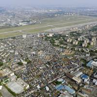 Inose revives push to let civilian airliners use Yokota air base