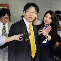 Fukushima damage control: Kenji Kagawa, director general of the Fisheries Agency's Resources Enhancement Promotion Department, visits the South Korean Food and Drug Safety Ministry on Monday to request that its expanded import ban on fisheries products be rescinded. | KYODO