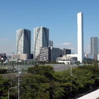 Coming soon: This is where the Olympic Village for the 2020 Games will be built in Chuo Ward, Tokyo. | SATOKO KAWASAKI