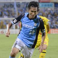 Maeda at the double as Jubilo stun Reysol