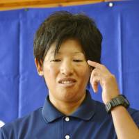 Softball gold medalist Ueno expresses disappointment