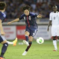 Three second-half goals carry Japan past Ghana