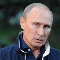 Shrewd statecraft: Russian President Vladimir Putin speaks to the media about Syria during a trip to Vladivostok on Aug. 31. Putin scored a major diplomatic coup when he persuaded the U.S. to sign on to his plan to end the Syrian chemical weapons crisis.   AP