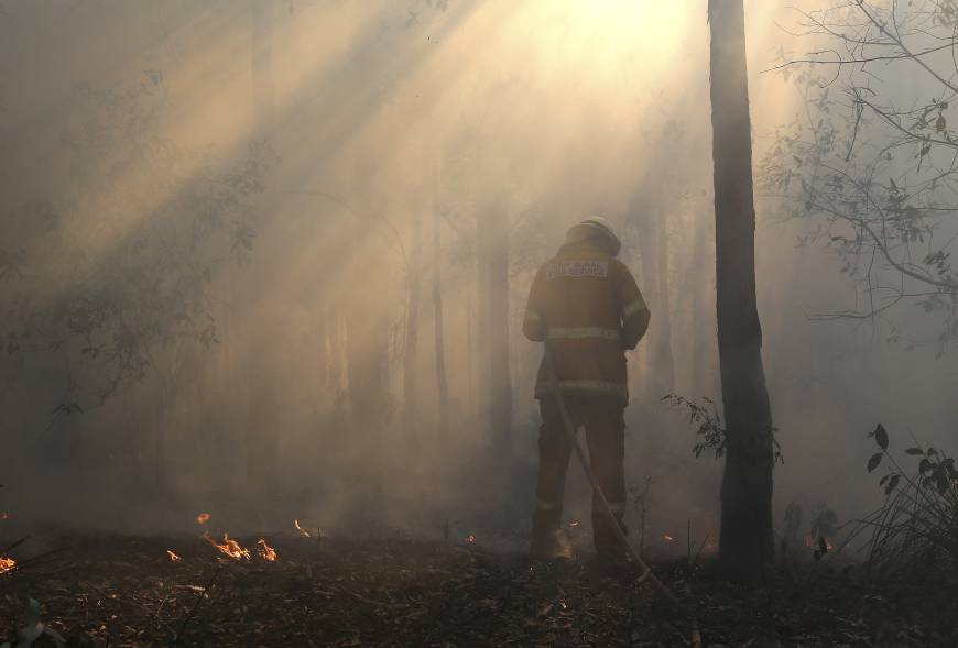 Aussie military blamed for fire