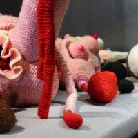 Complex issues knitted into the fabric of art