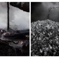Left: 'Cola Project' (2009-2010) | HE XIANGYU