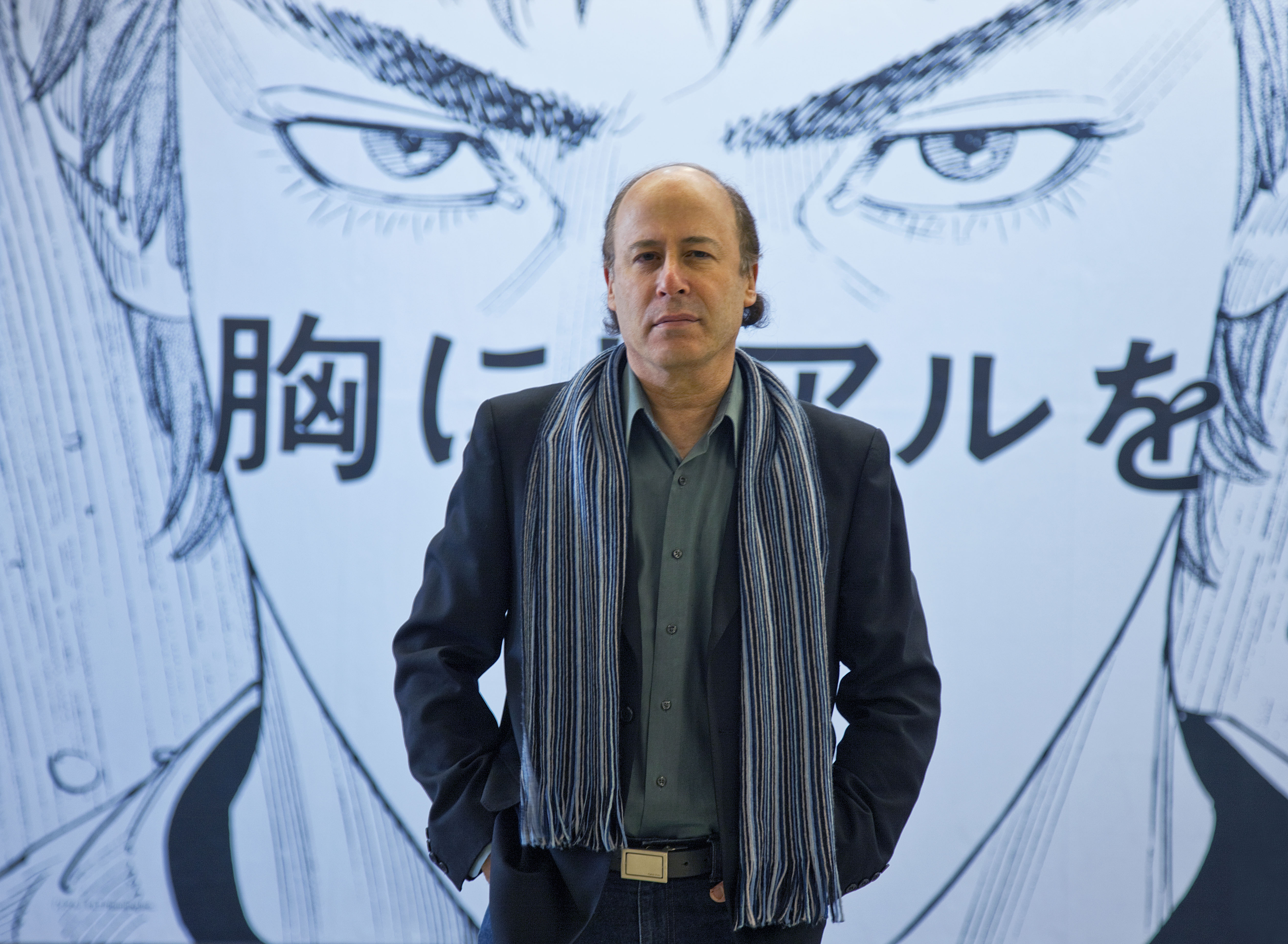 Hardboiled: The core idea behind Barry Lancet's first novel 'Japantown' is to mix his knowledge of Japanese culture with a page-turning thriller.   Ben Simmons