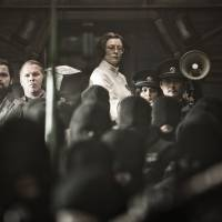 One of the hottest tickets for foreign press at BIFF was 'Snowpiercer,' a sci-fi epic that features both Korean and Western stars and will eventually be distributed in the U.S. by the Weinstein Company. | BUSAN INTERNATIONAL FILM FESTIVAL