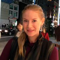 Svetlana Bondarenko, Housewife, 33 (Russian): I think Japan's a safe place, even if you walk the streets at night. But I do feel uncomfortable in crowded Shinjuku or Shibuya. Although I feel pretty much safe near my home in the Ginza area, I was once followed by an annoying guy in his 30s who tried to offer me ¥50,000 to spend some time with him, even though I kept saying no. I wasn't wearing anything that could have led him on.