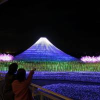 Nagashima Onsen Resort lights up the winter