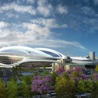 New look: Zaha Hadid Architects' proposal for the New National Stadium has caused much discussion among architects in Japan. | ZAHA HADID ARCHITECTS