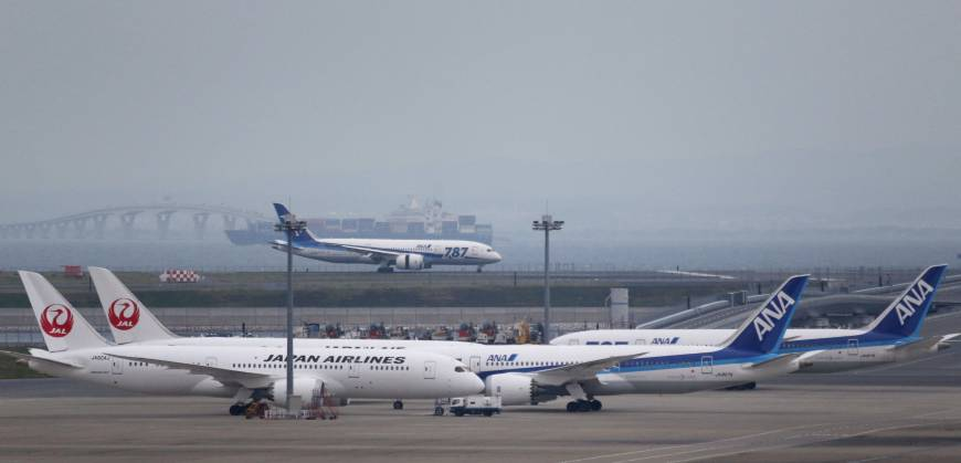 JAL- ANA fight over Haneda slots draws in U.S. carriers