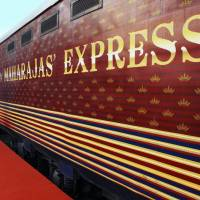 The varnish: The Maharajas' Express of India has a luxurious counterpart in the Seven Stars train to be run by Kyushu Railway Co. | JR KYUSHU/KYODO