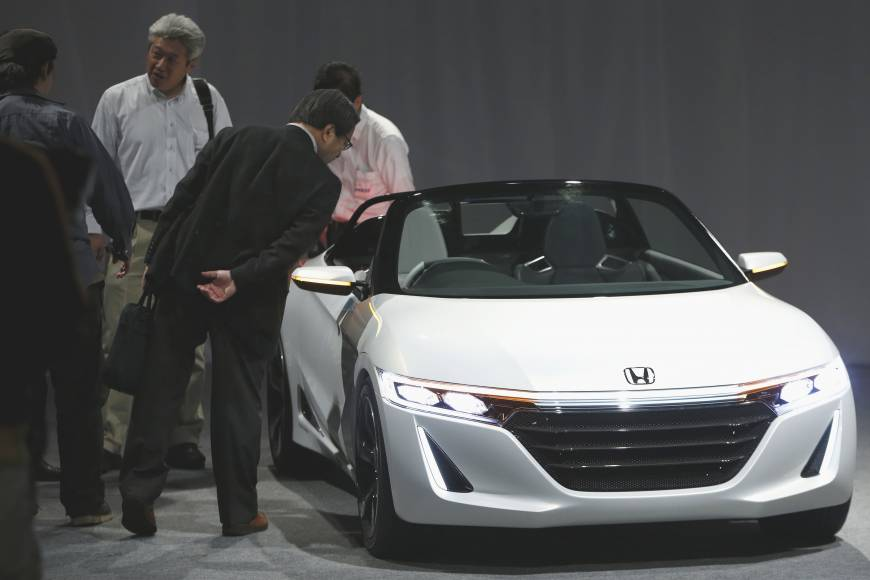 Honda betting on fun with mini sports car as drivers look to cut costs