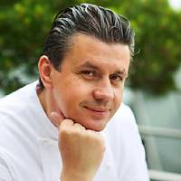The French Kitchen's visiting chef Frederic Vardon.