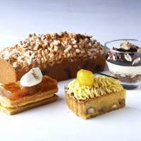Autumn sweets at the Fiorentina Pastry Boutique. Grand Hyatt Tokyo's autumn promotion is held through November.