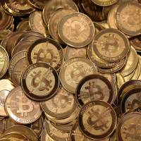 Net bucks: Bitcoins are a form of currency that was used on the website Silk Road, which the FBI closed Tuesday. The site facilitated sales of hard drugs. | AFP-JIJI