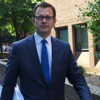 Hacked to pieces?: Former News of the World editor and Downing Street communications chief Andy Coulson leaves Southwark Crown Court in London on June 6 | AFP-JIJI