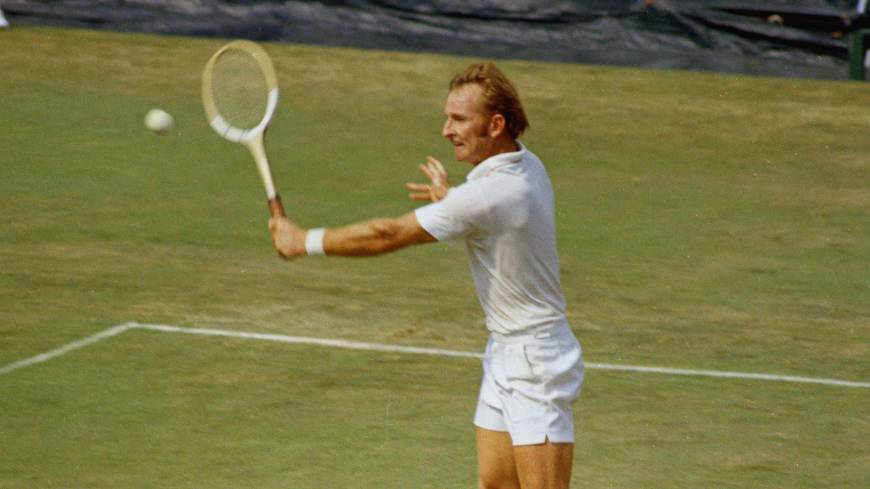 Greatness defined: Rod Laver won the Grand Slam in both 1962 and 1969. Nearly 45 years later, the Australian's feat has never been equalled even once. | AP