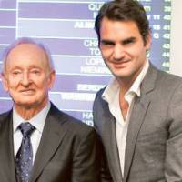 Laver considers Federer best player ever