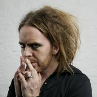 Prepped to perform: Tim Minchin poses in his theatrical makeup. | BLOOMBERG