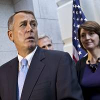 Boehner's control of his caucus slipping