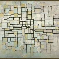 An abrupt end: Piet Mondrian's 'Composition No.II' (1913) | © COLLECTION KROLLER-MULLER MUSEUM, OTTERLO, THE NETHERLANDS