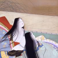 'Snow' of Uemura Shoen's 'Snow, Moon, and Flowers' (1937) | SANNOMARU SHOZOKAN (THE MUSEUM OF THE IMPERIAL COLLECTIONS)