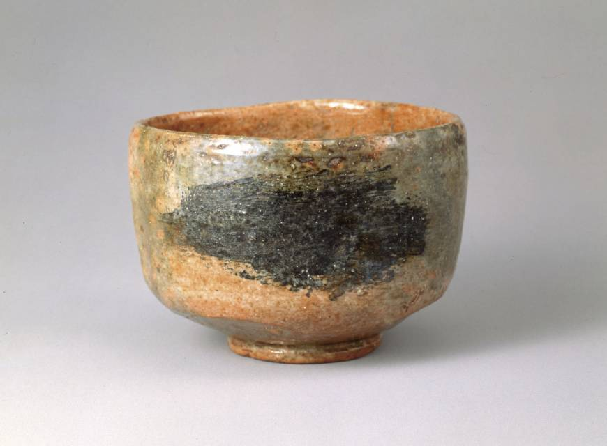 'Raku Tea Bowls and Celebrating the New Year with Pine Trees in the Snow'