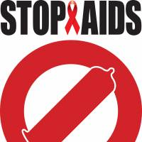 A campaign poster submitted by a member of the public for World AIDS Day.   POSTER COURTESY OF JAPAN FOUNDATION FOR AIDS PREVENTION